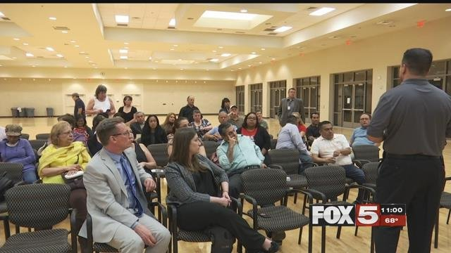 Metro police discussed immigration with the community Monday.