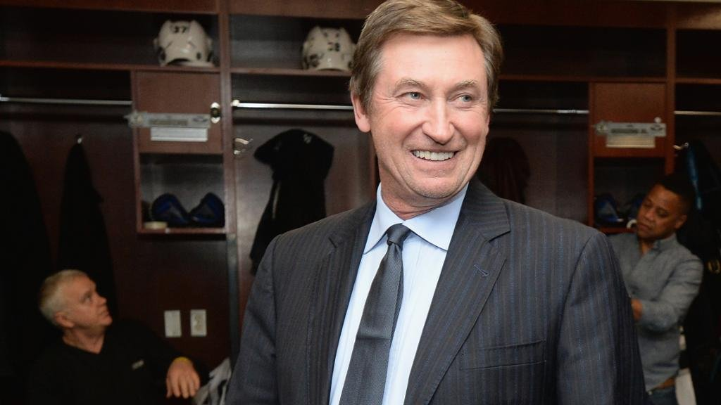 Wayne Gretzky talks about the future of the Golden Knights. (Courtesy of Golden Knights, NHL Network)