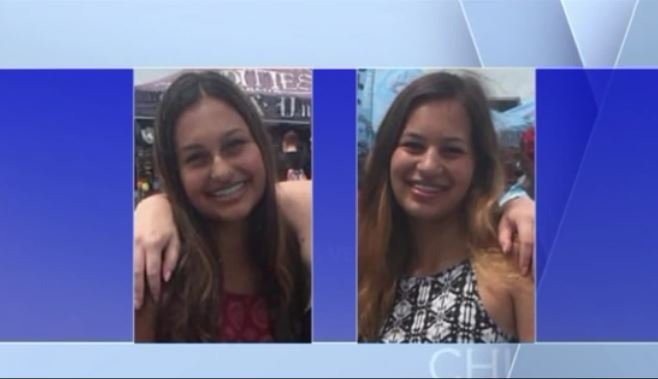 Tiffany Coffland, left, and Brittany Toffland, right, were identified as the victims who were shot and killed by their father on March 10, 2017. (Source: WGN)