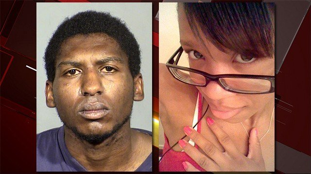 Raymond Lewis, left, and Geranique Bentley, right, were believed to be in a dating relationship, according to LVMPD. (Source: LVMPD, left)