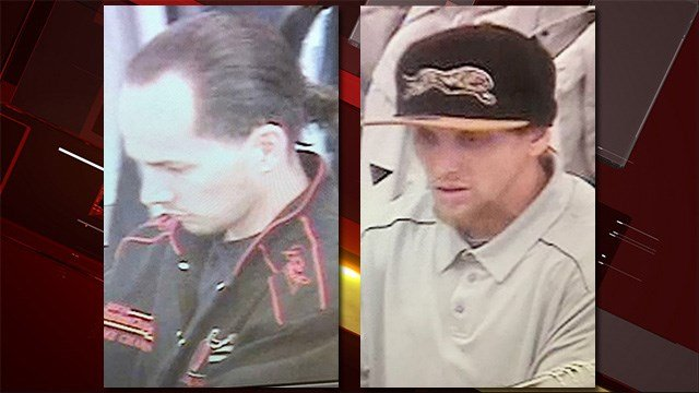 Police say two men were involved in an assault involving loss prevention officers on March 5, 2017. (Source: LVMPD)
