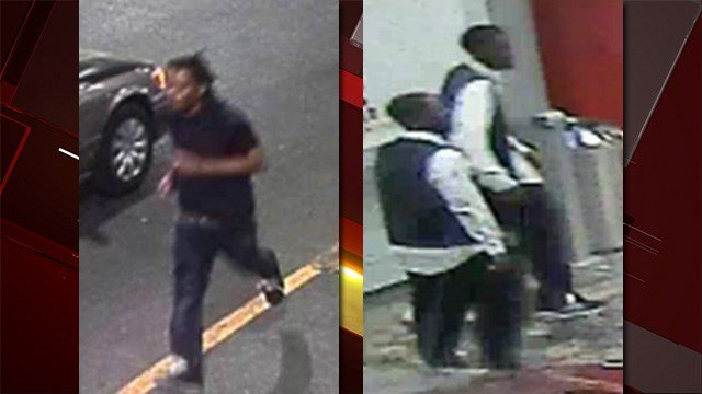 Police released images of three men sought in connection to a stabbing on the Las Vegas Strip. (LVMPD)