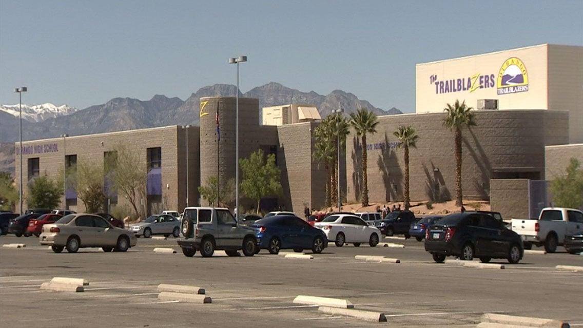 A student was arrested after threatening to shoot Durango High School. (Kurt Rempe/FOX5)