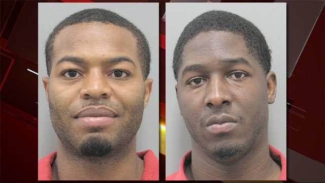 Cedric Henderson, left, and Ladarian Glenn, right. (Source: Henderson PD)