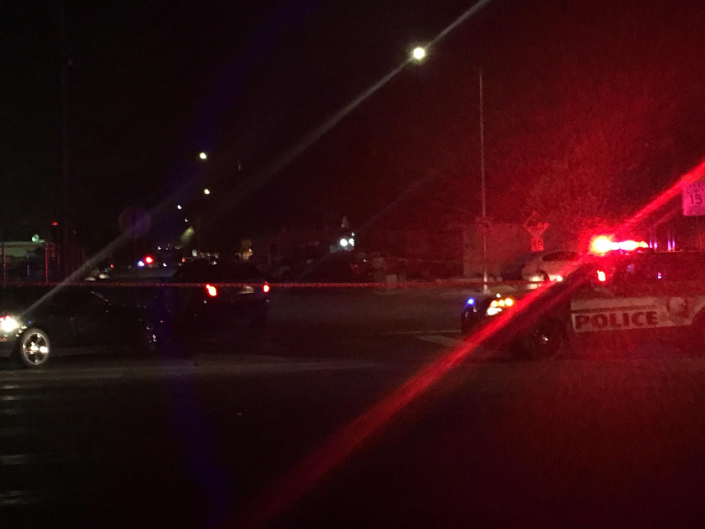 Police investigated a homicide on East Van Buren Avenue Wednesday.