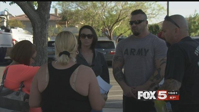 A group of parents gathered in Henderson after another teacher was arrested for sexual misconduct.