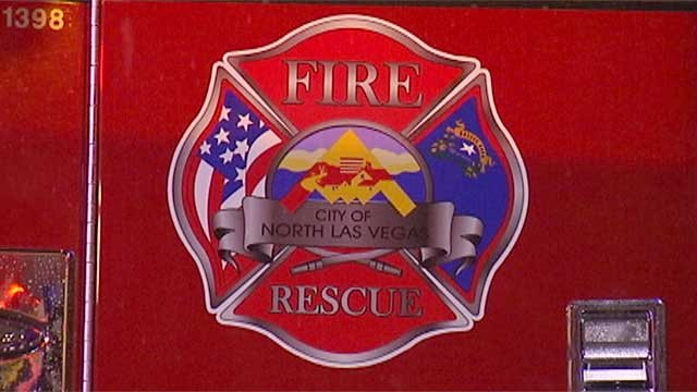 The emblem for the North Las Vegas Fire Department is shown in an undated image. (File)