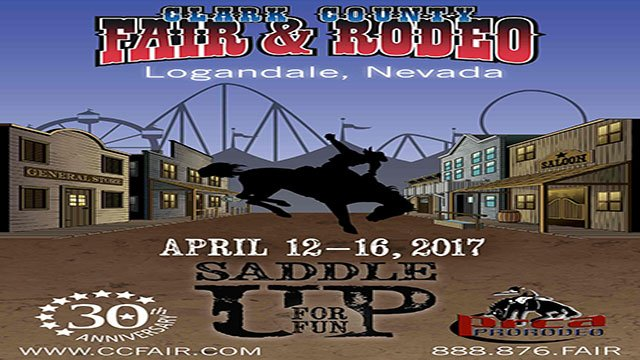A flyer for the 52nd Clark County Fair and Rodeo (FOX5).