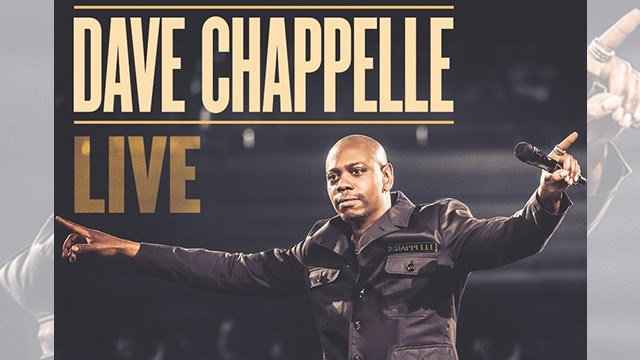 Dave Chappelle, seen here in promotional material for his 'Dave Chappelle Live' show, is expected to perform in Las Vegas on May 5, 2017. (Source: Mandalay Bay hotel-casino)