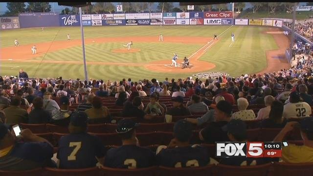 The Las Vegas 51s had its 2017 home opener on Apr. 11.