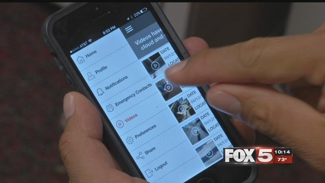 The iWitness app helps people catch would-be attackers in the act.