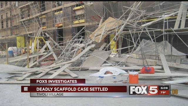A construction company responsible for an unsafe work site that killed one of its employees has settled their case with OSHA.