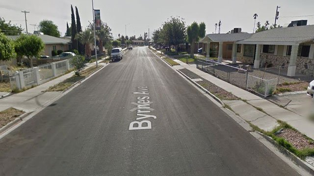 A street view of Brynes Avenue in west Las Vegas (Google Maps/FOX5).