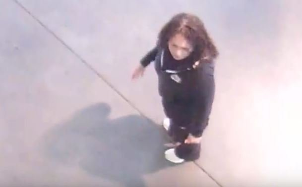 Police are searching for two people who dropped off a woman at a hospital in critical condition. (Source: LVMPD)