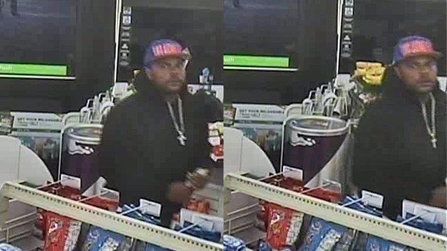 Security camera captured a man who held up a 7-Eleven on April 24, 2017. (Source: Henderson PD)