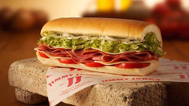 Six menu sandwiches and the Jimmy John's BLT are being offered for $1 at participating locations on May 2, 2017. (Source: Jimmy John's)