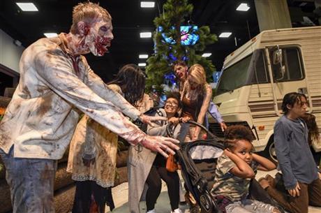 A new 'Fear the Walking Dead' attraction is headed to Las Vegas. (AP)