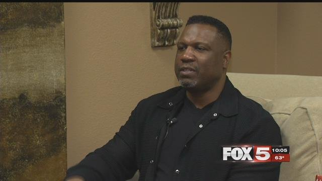 Mike Pritchard shared his experiences as a first round draft pick in the NFL. (FOX5)