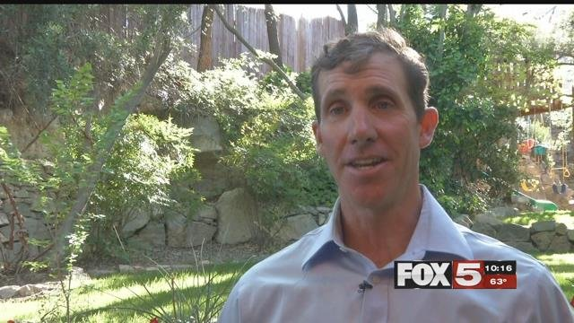 Business owner Jared Fisher is running for Nevada governor. (FOX5)