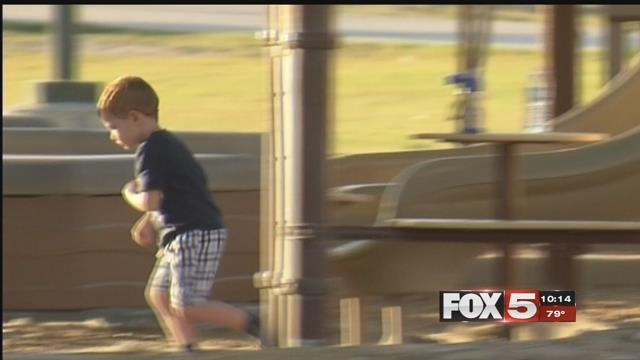 FOX5 tested kids in 'stranger danger' situations. (FOX5)