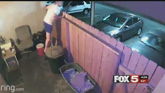 A great-grandmother was burglarized three times in 10 days.