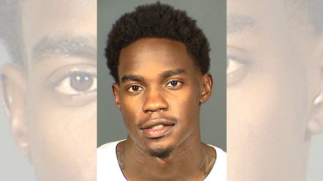 Booking photo of Dwayne Morgan. (Source: LVMPD)