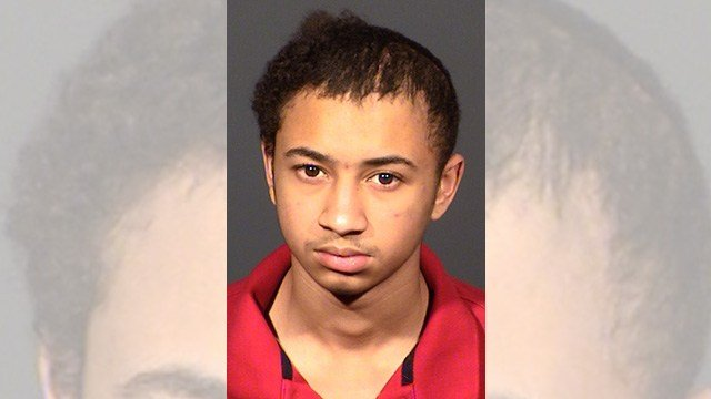 Darius Higuera, 16, was arrested on March 30, 2017. (Source: LVMPD)