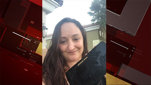 Stephanie Dingman had her wallet returned after leaving 30 minutes from her home. (Source: Stephanie Dingman)