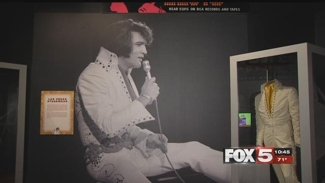 Demand for Elvis memorabilia has dropped significantly.