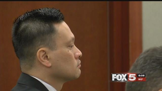 Dr. Binh Chung faces trial, charged with drugging and sexually assaulting his patients. (Jason Westerhaus / FOX5)