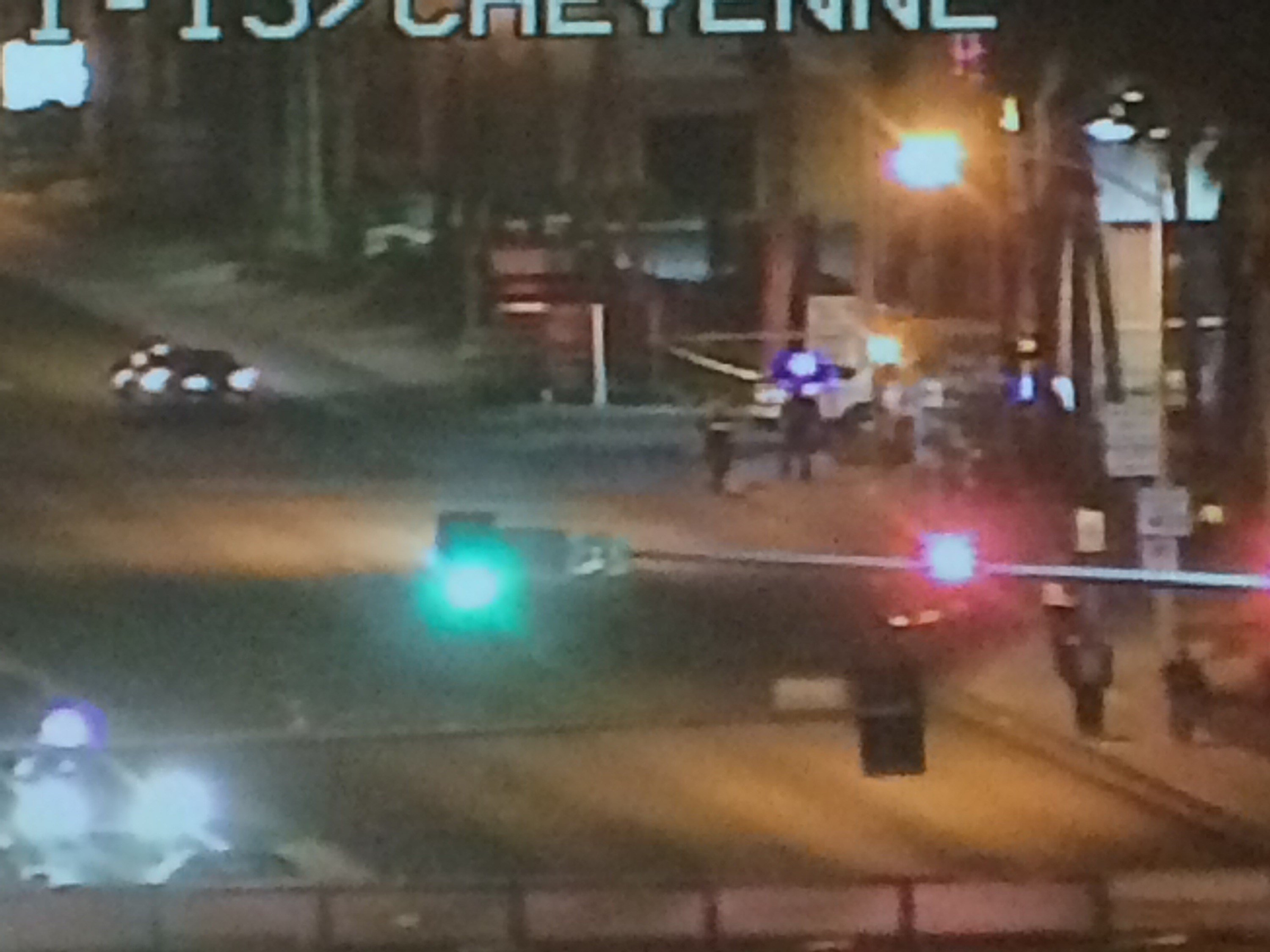 A man was shot and killed on East Cheyenne Avenue in North Las Vegas Thursday.