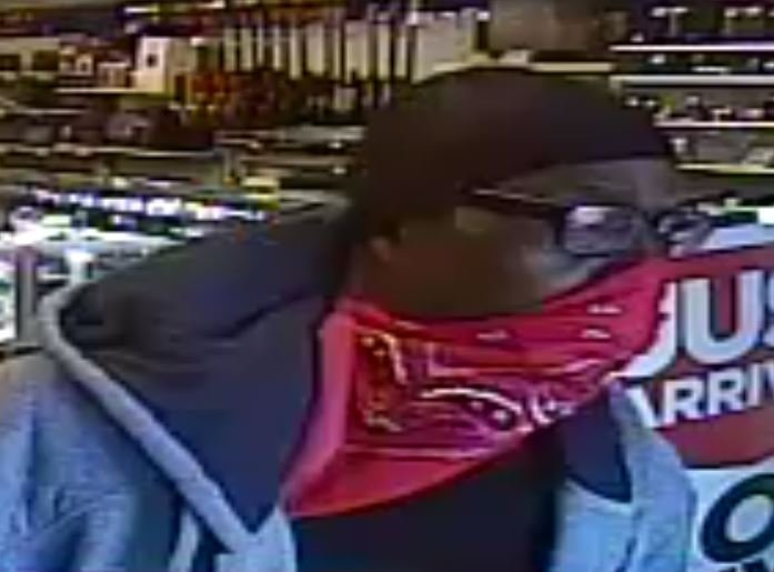 Police asked for the public's help to find two suspects in an attempted robbery case from May 14, 2017. (LVMPD)