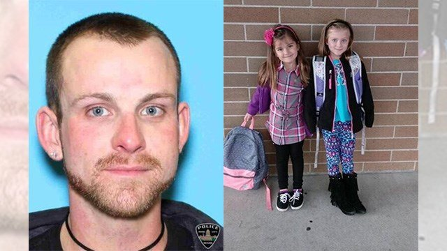 Left: Joshua Dundon. Right:: Jaylynn and Madison Dundon. (Source: Boise, Idaho, police department)