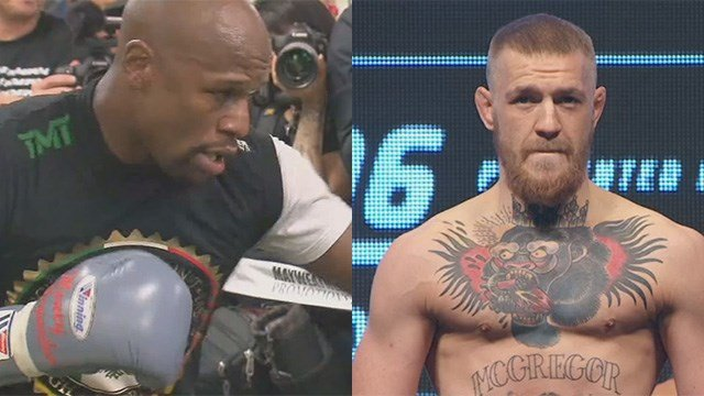 Floyd Mayweather Jr. and Conor McGregor are inching closer to a final contract to fight. (FILE)