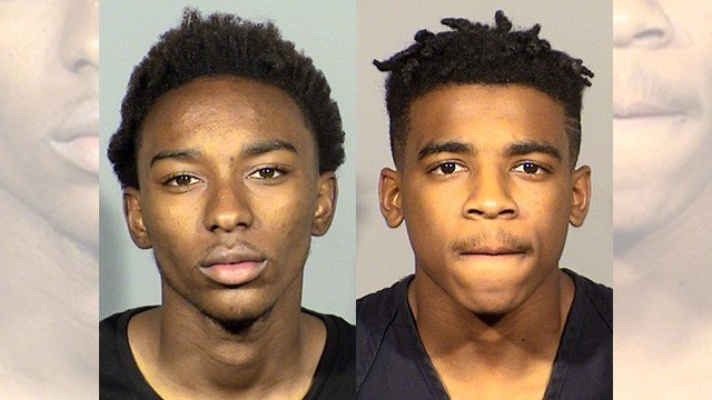 Thayron Paxton, left, and William Bogan, right. (Source: LVMPD)