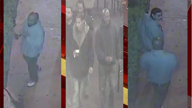 North Las Vegas police released images of men wanted in connection to a robbery on May 14, 2017. (NLVPD)