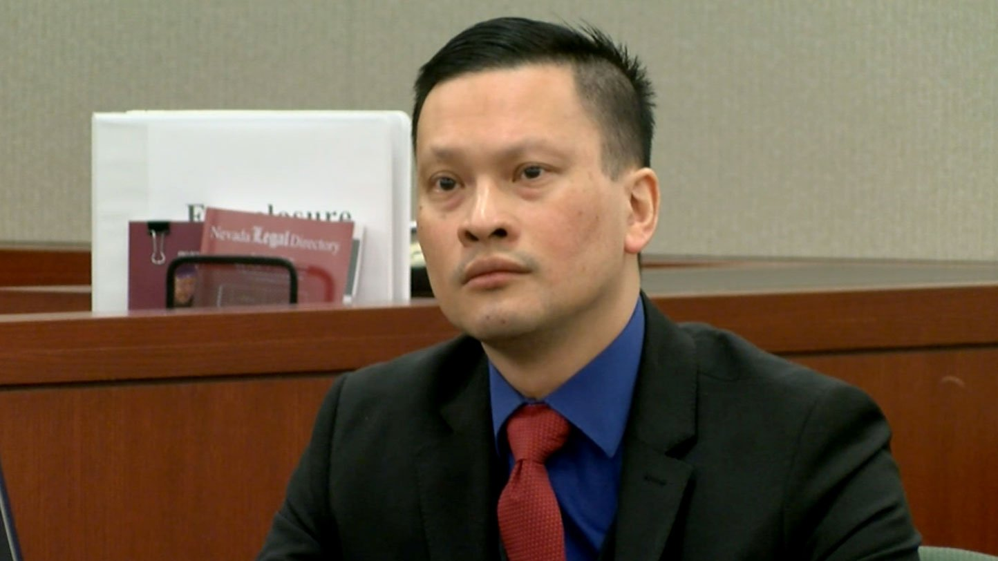 Dr. Binh Minh Chung took the stand in his sexual assault trial on May 18, 2017. (Jason Westerhaus/FOX5)