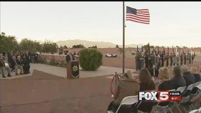 Police honored fallen officers on May 17, 2017. (FOX5)