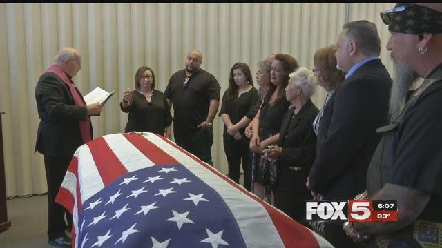 After nearly 67 years missing in action, Korean War veteran Manuel Quintana was laid to rest. (FOX5)