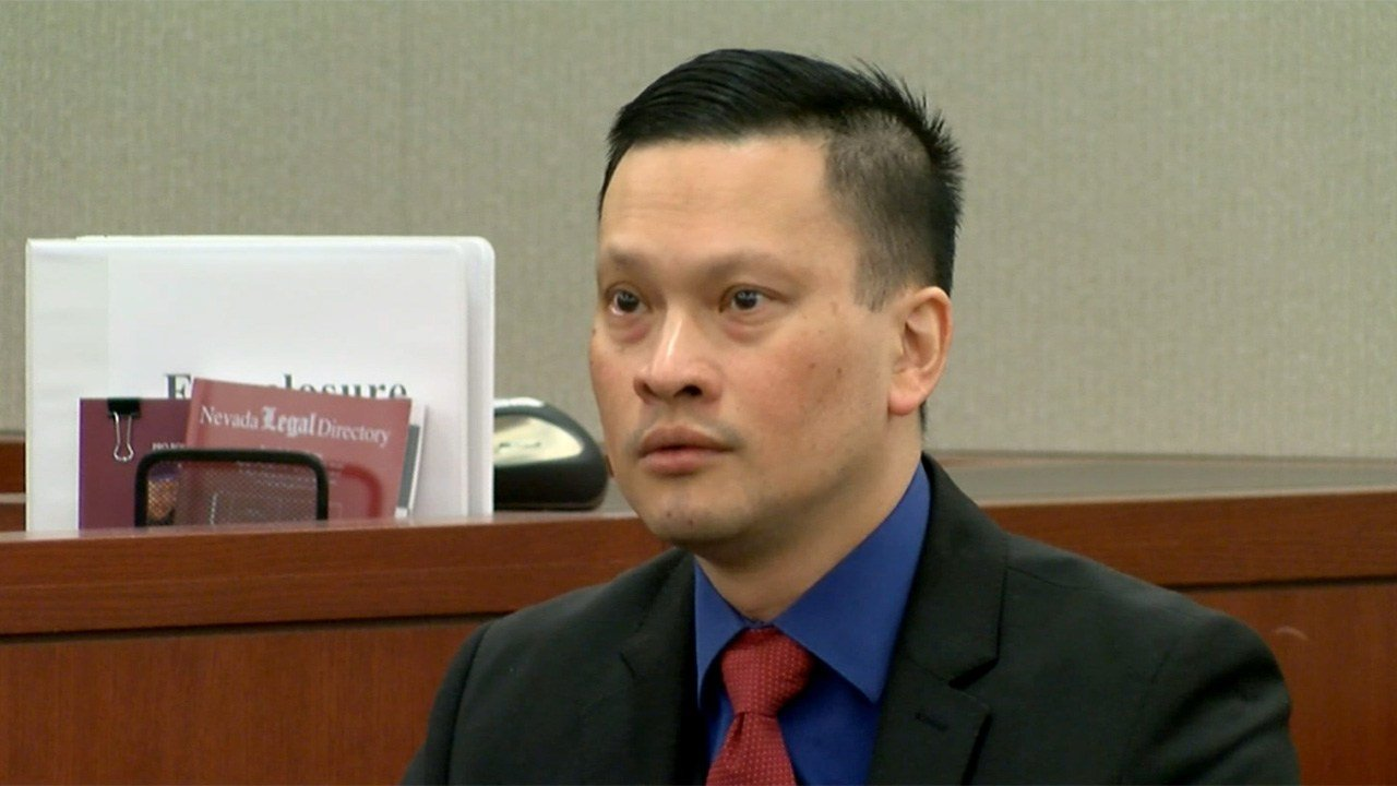 Dr. Binh Chung testified in his sexual assault trial in Las Vegas Justice Court on May 18, 2017. (FOX5)