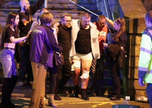 At least 22 were killed and 59 injured in explosions at a concert in Manchester Monday. (Photo: Associated Press)
