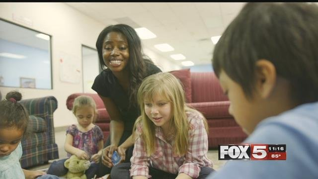 Thousands of kids are in need of foster families in Las Vegas. (FOX5)