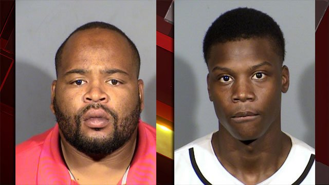 Police said two additional suspects were arrested in connection to the death of a security guard. (LVMPD)