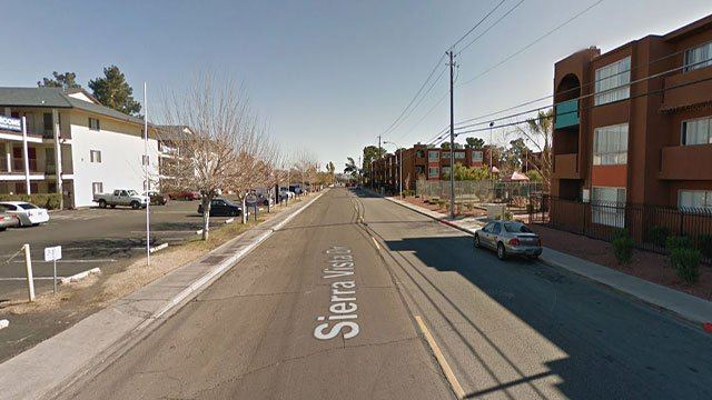 A man suffering from apparent stab wounds was located shortly after midnight on the 900 block of Sierra Vista Drive (Google Maps/FOX5).