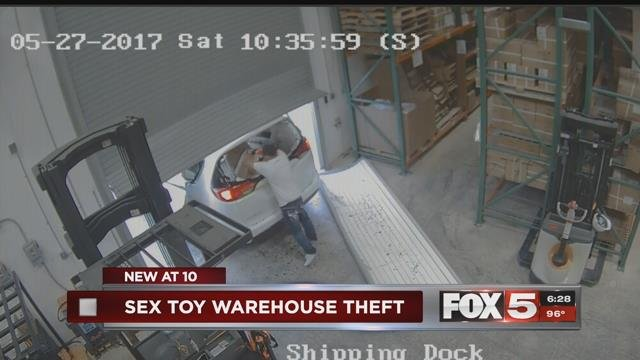 Thirty-thousand condoms were stolen from a Las Vegas warehouse.