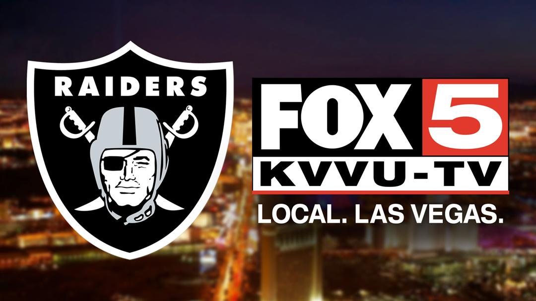 The Raiders announced FOX5 as the exclusive television home of the team's preseason games from the 2017 season through the 2019 season. (FOX5)