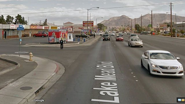 A deadly nightclub shooting occurred early Saturday morning on the 3300 block of East Lake Mead Boulevard (Google Maps/FOX5).