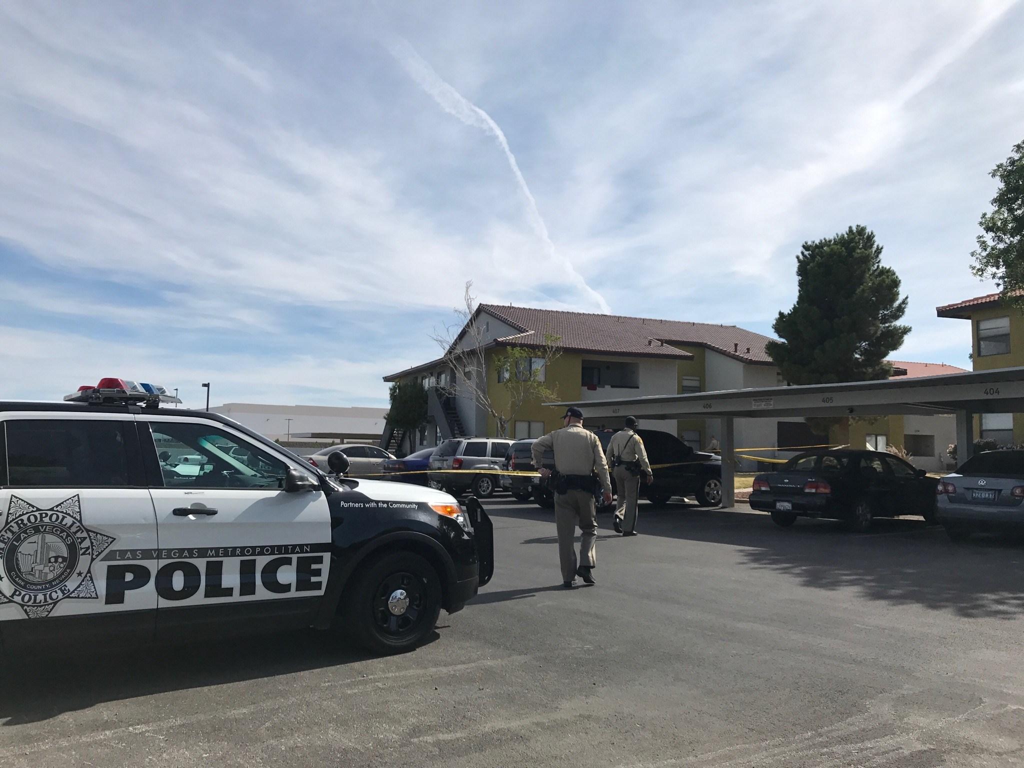 A child was found dead in a bathtub near Nellis and Cheyenne. (FOX5)