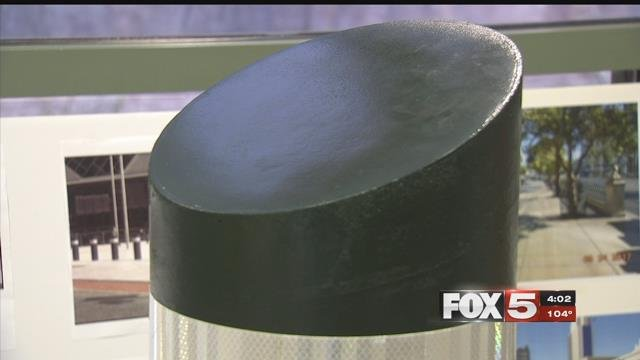 Bollards will be installed in Las Vegas soon to protect pedestrians. (FOX5)