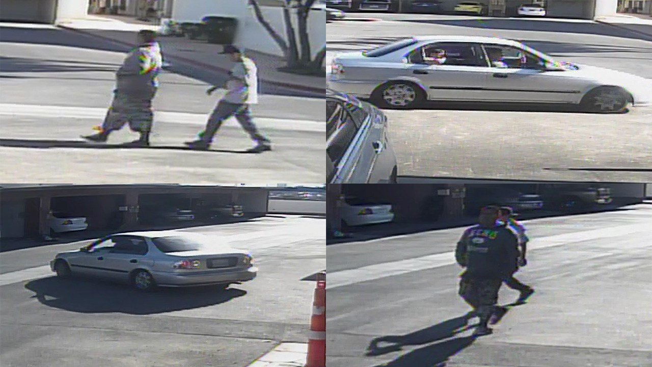 Police released images connected to an armed robbery near Pennwood Avenue and Valley View Boulevard on May 27, 2017. (Source: LVMPD)